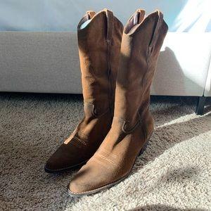 Suede Matisse Western Cowboy Boots